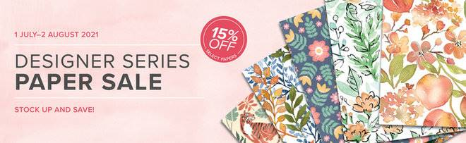 Stampin Up DSP Sale